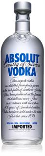 Absolut Vodka 1.00l